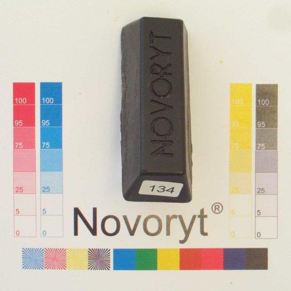 NOVORYT® Weichwachs Farbe 034 Ebenholz 5 Stangen der Serie WW003 Bild1