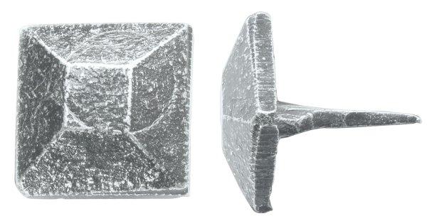 Ziernagel, Polsternägel 4-flächig thermopatiniert ®, schwarz passiviert 16 x 26 mm, 20 x 26 mm Bild1