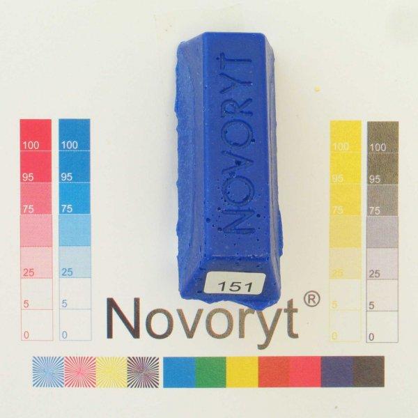 NOVORYT® Schmelzkitt - Farbe 151 blau 1 Stange der Serie HW003 Bild1