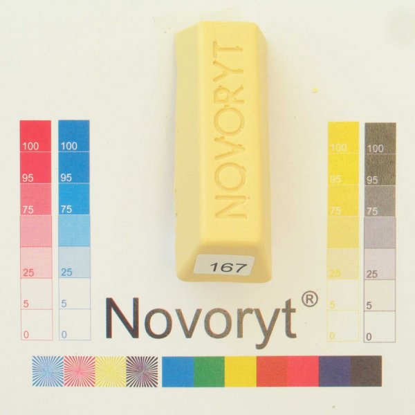 NOVORYT® Schmelzkitt - Farbe 167 Kiefer-Spli 1 Stange der Serie HW003 Bild1
