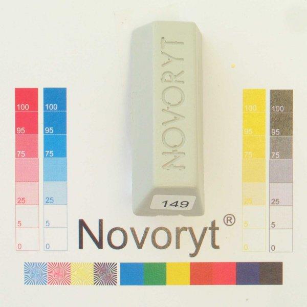 NOVORYT® Weichwachs Farbe 049 hellgrau 5 Stangen der Serie WW003 Bild1