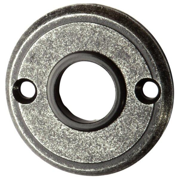 Türdrückerrosette, Eisen schwarz passiviert D 53 mm der Serie TR530 Bild1