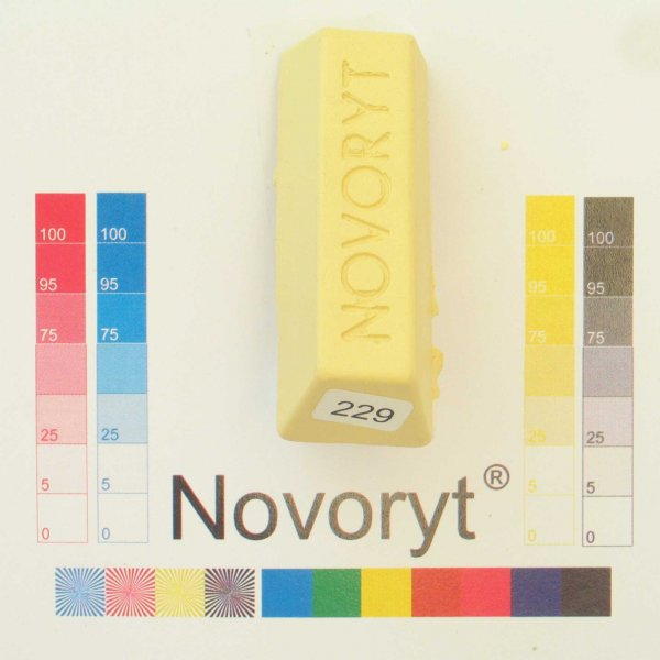 NOVORYT® Schmelzkitt - Farbe 229 5 Stangen der Serie HW003 Bild1