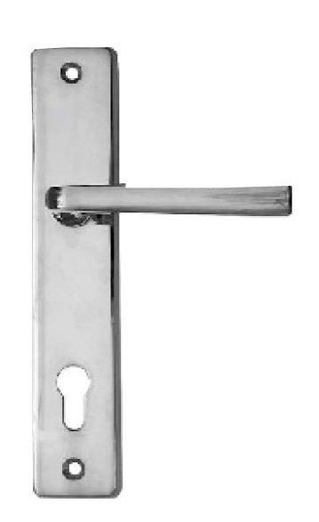 Sicherheitstürschild in Messing (PZ) mit versch. Maße & Oberflächen erhältlich. Bild1