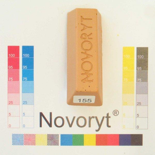 NOVORYT® Weichwachs Farbe 055 Buche gedämpft 5 Stangen der Serie WW003 Bild1