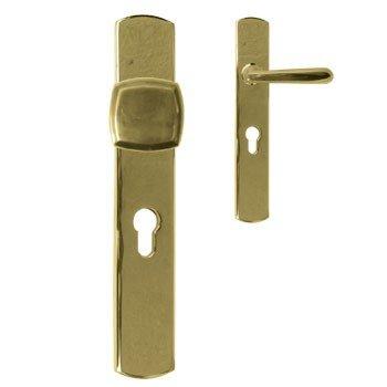 Sicherheitsgarnitur, Messing poliert, Dist. 92 mm, PZ, Art.Nr.: 11-8064HS Bild1