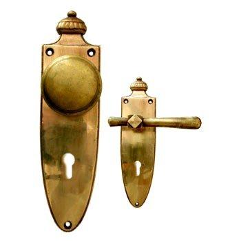 Sicherheitsgarnitur Messing poliert, Dist. 72 mm, PZ, Art.Nr.: 11-7068HS Bild1