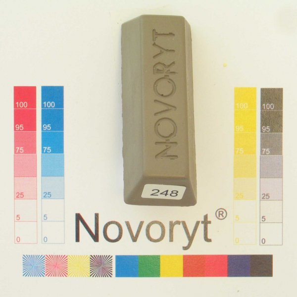 NOVORYT® Schmelzkitt - Farbe 248 5 Stangen der Serie HW003 Bild1