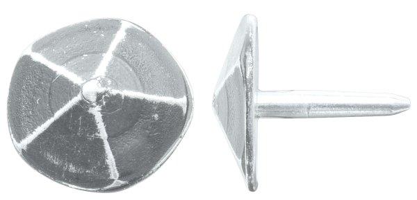 Ziernagel 5-flächig in Eisen schwarz passiviert /thermopatiniert ® mit versch. Maße. Bild1