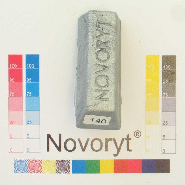NOVORYT® Schmelzkitt - Farbe 148 silber 1 Stange der Serie HW003 Bild1