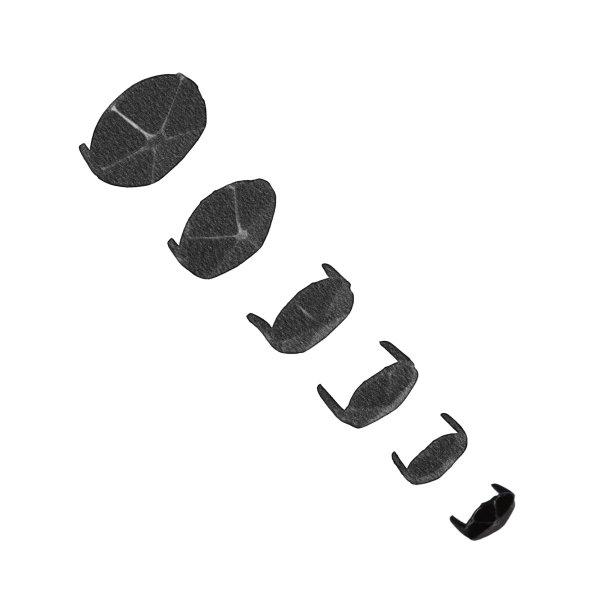 Zierkappe D13 mm Eisen 50 Stk der Serie ZB200 Bild1