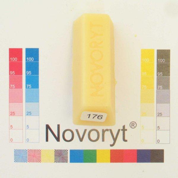 NOVORYT® Schmelzkitt - Farbe 176 Fichte tran 5 Stangen der Serie HW003 Bild1