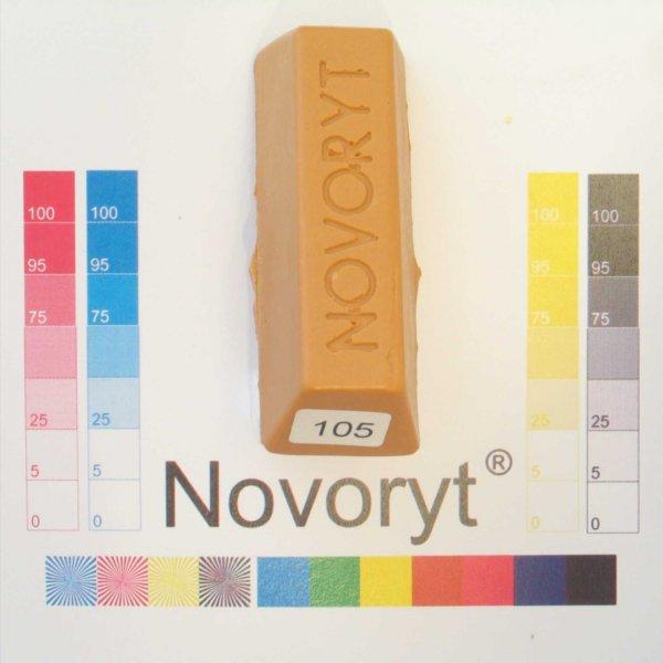 NOVORYT® Weichwachs Farbe 005 Kiefer 5 Stangen der Serie WW003 Bild1