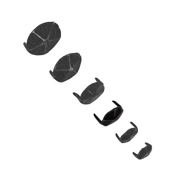 Zierkappe D19 mm Eisen 20 Stk der Serie ZB200 Bild1