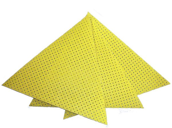 useit® Dreieckschleifscheiben / Deltascheiben, K150 der Serie SP201, 1 Pack / 10 Stück Bild1