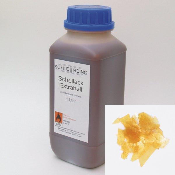 Gelöster Schellack extra hell, 1 Liter der Serie LA003 Bild1