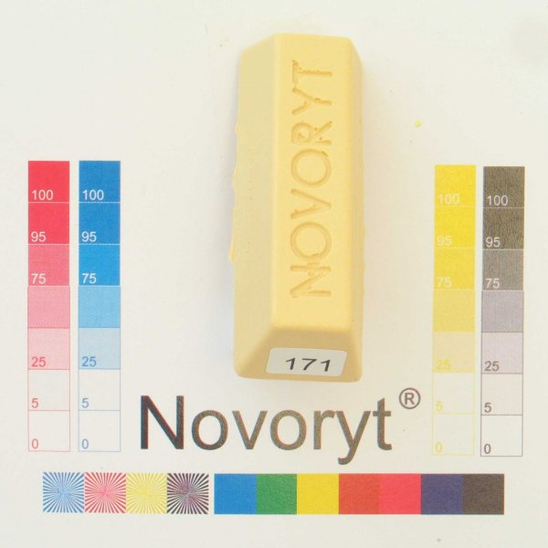 NOVORYT® Schmelzkitt - Farbe 171 Buche natur 1 Stange der Serie HW003 Bild1