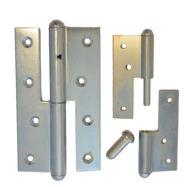 Aufschraubband gerade f stumpfe Türen fester Stif der Serie TB003 Bild1