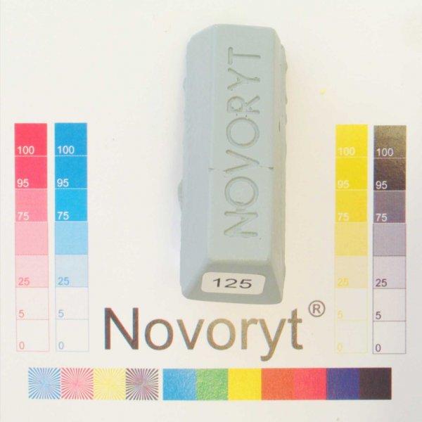 NOVORYT® Schmelzkitt - Farbe 125 Silbergrau 1 Stange der Serie HW003 Bild1