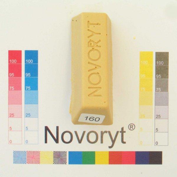 NOVORYT® Schmelzkitt - Farbe 160 beige 2 1 Stange der Serie HW003 Bild1