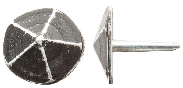 Ziernagel ZB201 Eisen schwarz passiviert mit versch. Maße. Bild1