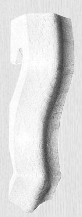 Kapitell in verschieden Holzarten 35 x 140 mm der Serie AH040 Bild1