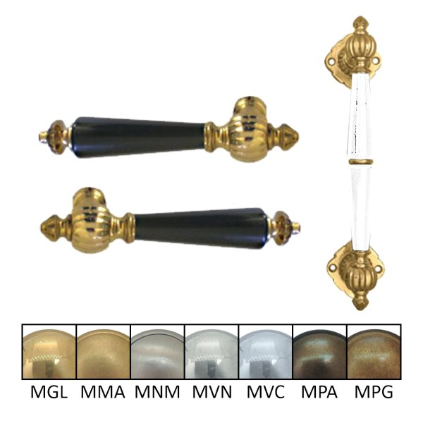 Türgriff Grifflänge: 110 mm, Stoßgriff: 240 mm Bild1