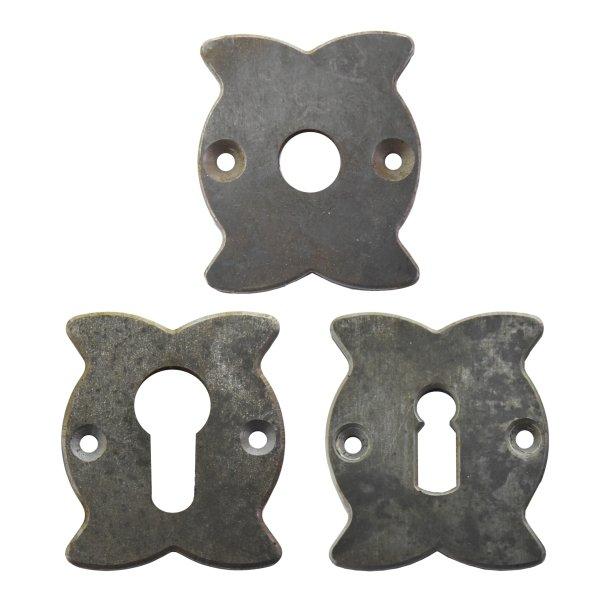 Rosette 60 x 51 mm, Eisen Bild1