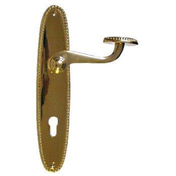 Türschild in Messing (PZ, BB) mit versch. Oberflächen. 235x45 mm Bild1