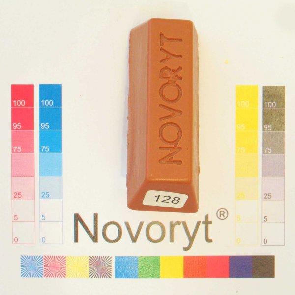 NOVORYT® Schmelzkitt - Farbe 128 Kupfer hell 1 Stange der Serie HW003 Bild1