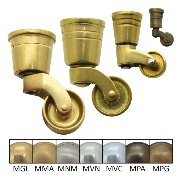 Möbelrolle MGL der Serie MR001 Bild1