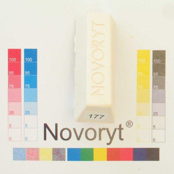 NOVORYT® Schmelzkitt - Farbe 177 cremeweiß r 1 Stange der Serie HW003 Bild1