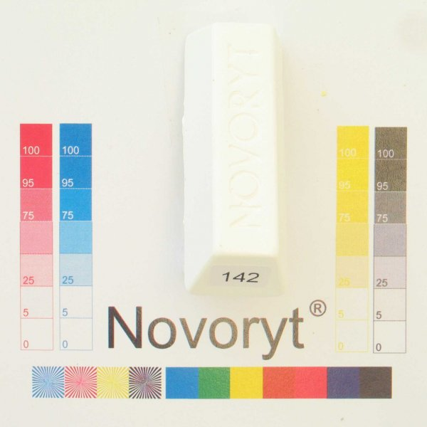 NOVORYT® Schmelzkitt - Farbe 142 spezialweis 5 Stangen der Serie HW003 Bild1
