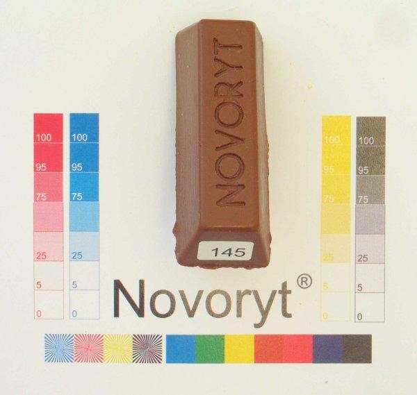NOVORYT® Schmelzkitt - Farbe 145 signalbraun 1 Stange der Serie HW003 Bild1