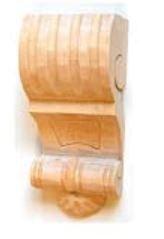 Kapitell in Linde. 58x130 mm Bild1