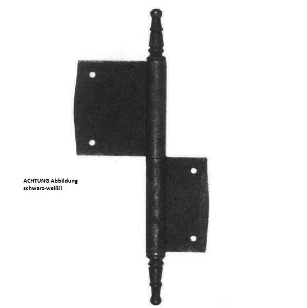 Möbelfitschband MMA, L-100 mm, rechts der Serie MB112 Bild1