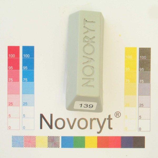 NOVORYT® Schmelzkitt - Farbe 139 lichtgrau 3 1 Stange der Serie HW003 Bild1