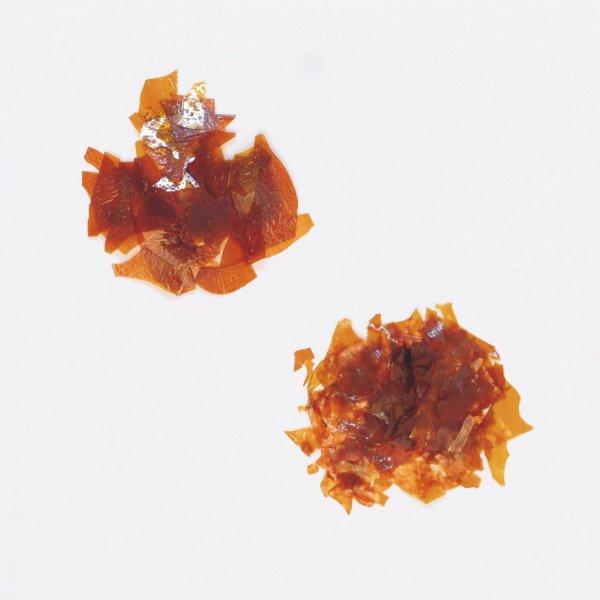 Reiner Blätterschellack, wachshaltig der Serie HA002 Bild1