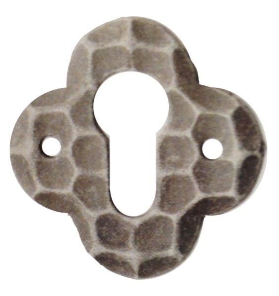 Rosette 62 x 62 mm, Eisen Bild1