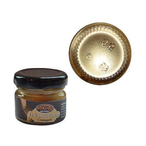 Gold-Creme 25 ml Gold in Pastenform mit einer hohen Deckfähigkeit. Bild1