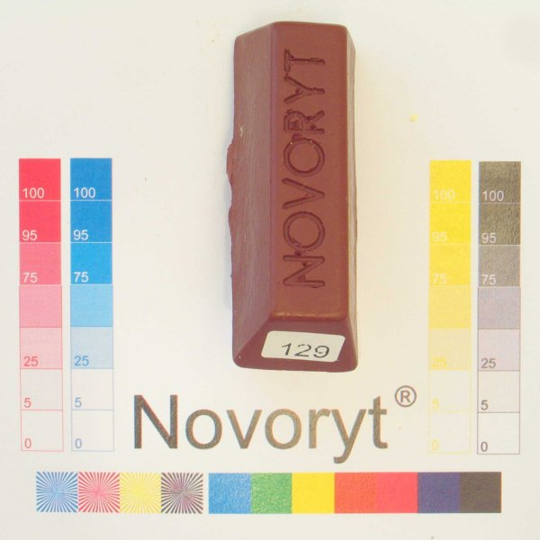 NOVORYT® Weichwachs Farbe 029 Mahagoni 1 Stange der Serie WW003 Bild1