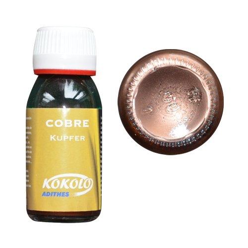 Flüssiggold 60ml Kupfer, für alle Oberflächen und Materialien geeignet, kein Oxidieren Bild1