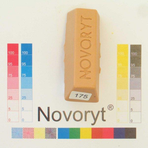 NOVORYT® Weichwachs Farbe 075 Buche spezial 5 Stangen der Serie WW003 Bild1