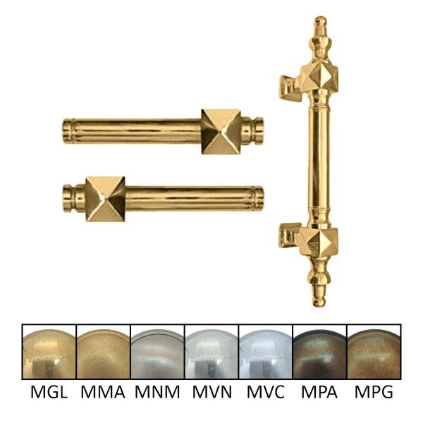 Türgriff Grifflänge: 105 mm und 130 mm, Stoßgriff 300 mm Bild1