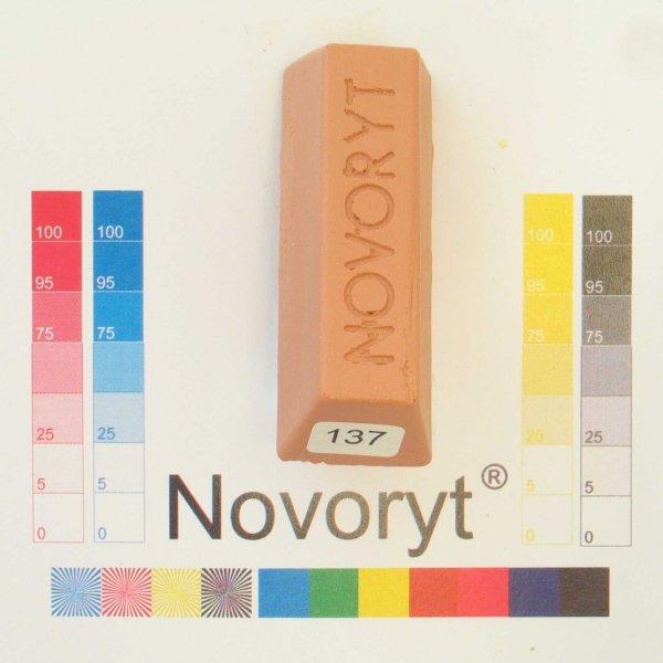 NOVORYT® Schmelzkitt - Farbe 137 beigerot 1 1 Stange der Serie HW003 Bild1