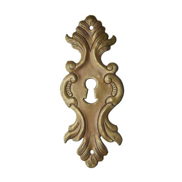 Schlüsselschild in Eisen Schwarz. 65x155 mm Bild1