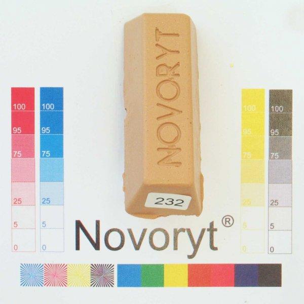 NOVORYT® Schmelzkitt - Farbe 232 beigerot 5 Stangen der Serie HW003 Bild1
