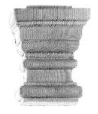 Kapitell AH029 Maße: 82 mm x 102 mm Kiefer Bild1