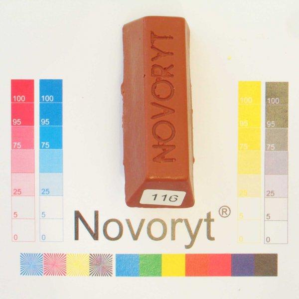 NOVORYT® Schmelzkitt - Farbe 116 Kupfer glän 1 Stange der Serie HW003 Bild1