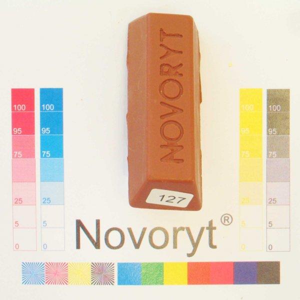NOVORYT® Schmelzkitt - Farbe 127 Kupferbraun 1 Stange der Serie HW003 Bild1